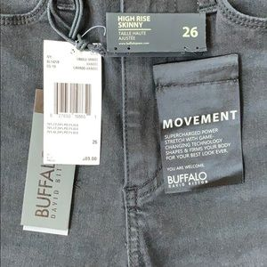 Buffalo David Bitton Jeans - NWT buffalo David bitton high rise skinny jeans